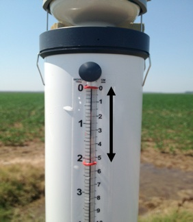 Atmometer (ET Gauge) in field